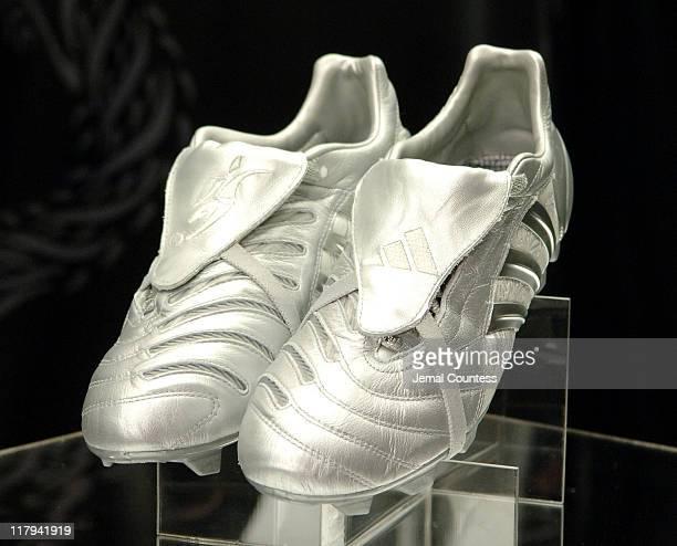 The David Beckham Predator Pulse Boot during David Beckham and adidas Unveil the David Beckham Predator Pulse Boot and Predator Product Line at...