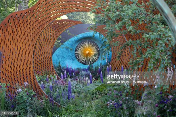 The David Harber and Savills Garden at the RHS Chelsea Flower Show at the Royal Hospital Chelsea London