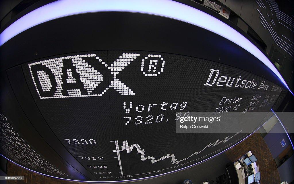 NYSE And Deutsche Boerse To Possibly Merge : Nachrichtenfoto