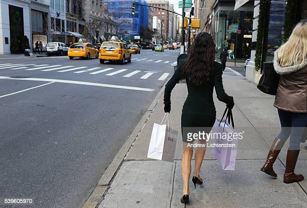 The day after Thanksgiving named Black Friday crowds of shoppers and tourists from around the world look for bargains in the expensive flagship...