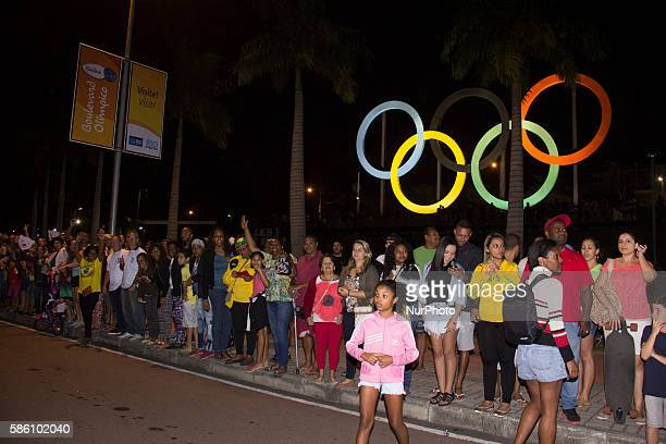 The day before the official opening of the Rio 2016 Olympic Games the Olympic torch traveled 340km through neighborhoods in all regions of the city...