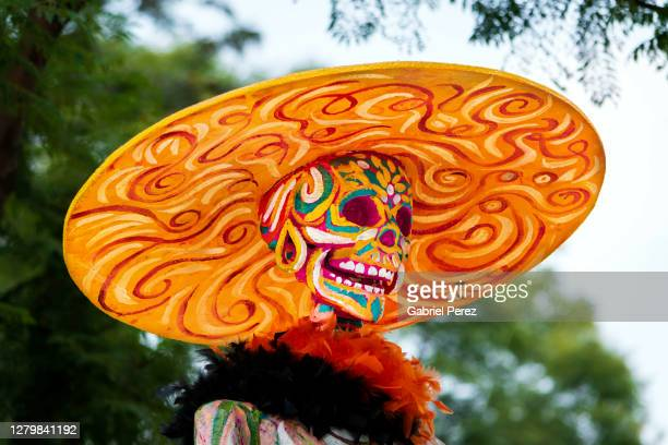 the day of the dead celebrations in mexico city -  キリスト教 伝来の地  ストックフォトと画像
