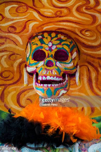 the day of the dead in mexico - day of the dead festival stock photos and pictures
