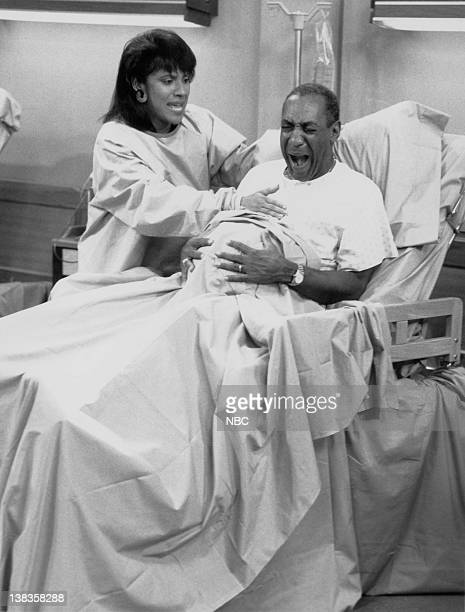 """The Day the Spores Landed"""" Episode 8 -- Air Date -- Pictured: Phylicia Rashad as Clair Hanks Huxtable, Bill Cosby as Dr. Heathcliff 'Cliff' Huxtable"""