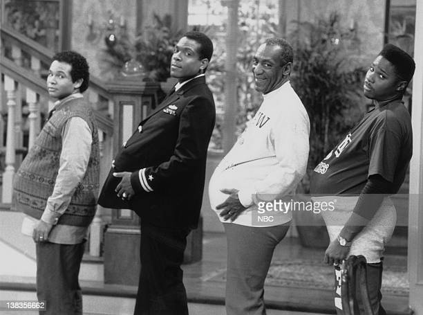 SHOW The Day the Spores Landed Episode 8 Air Date Pictured Geoffrey Owens as Elvin Tibideaux Joseph C Phillips as Lt Martin Kendall Bill Cosby as Dr...