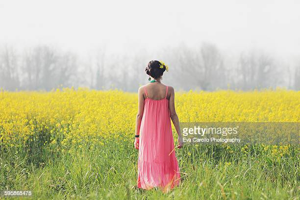 The days of yellow flowers