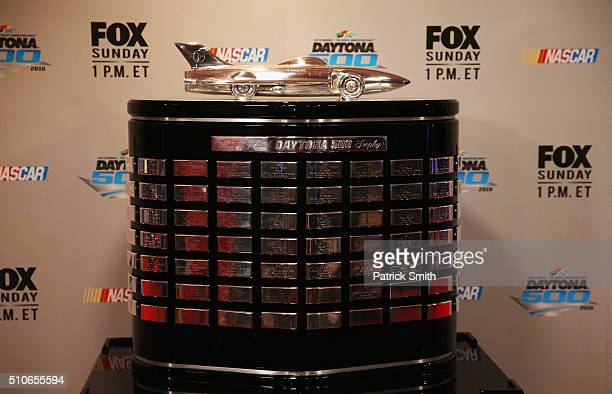 497 Daytona 500 Trophy Photos And Premium High Res Pictures Getty Images