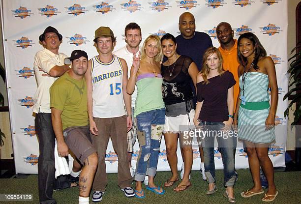 Simon Rex Joey Fatone of *NSYNC Danny Masterson Justin Timberlake of *NSYNC Cameron Diaz Jennifer Gimenez Dennis Scott Elisha Cuthbert Roy Williams...