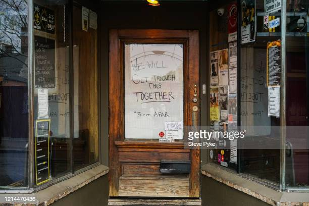 The dba live music club on Frenchmen Street in the French Quarter of New Orleans closed amid restrictions in place to help deal with the Covid19...