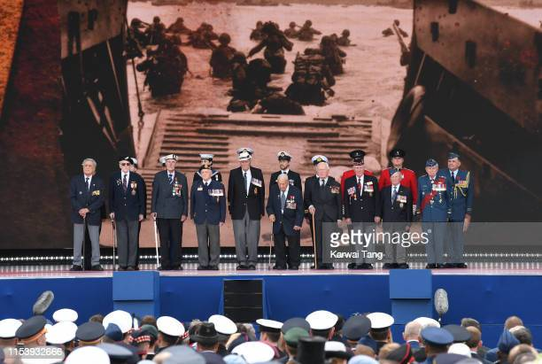 The DDay75 National Commemorative Event to mark the 75th Anniversary of the DDay Landings at Southsea Common on June 05 2019 in Portsmouth England