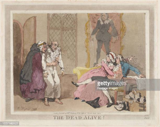 The Dead Alive July 1795 Artist Thomas Rowlandson