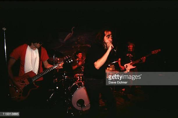 The Dead Milkmen during Dead Milkmen in Concert at Columbia University 1990 at Columbia University in New York City New York United States
