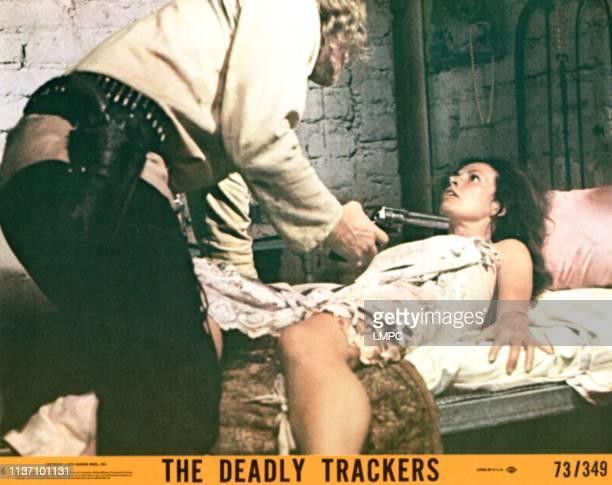 The Deadly Trackers lobbycard Richard Harris Isela Vega 1973