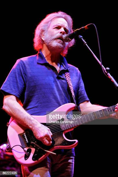 The Dead's Bob Weir performs at Madison Square Garden on April 25 2009 in New York City