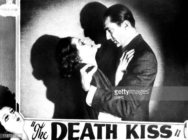 The Death Kiss US lobbycard from left Adrienne Ames Bela Lugosi 1932