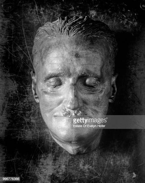 The death mask of Irish writer James Joyce Dublin 1966