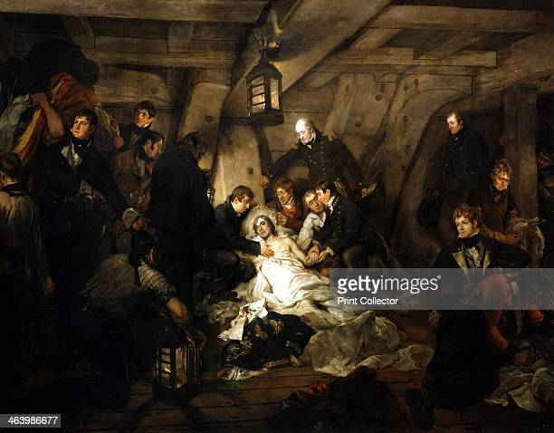 The death of Admiral Lord Nelson 1805 During the Battle of Trafalgar which would prove to be his greatest victory Nelson was fatally wounded when he...