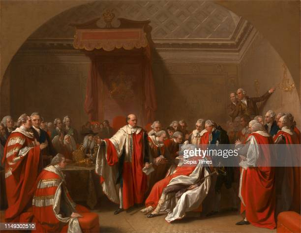 The Death of Chatham The Death of the Earl of Chatham Benjamin West 17381820 American