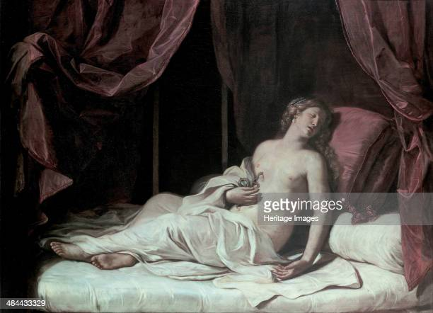 The Death of Cleopatra 1648 Found in the collection of the Musei di Strada Nuova Genoa