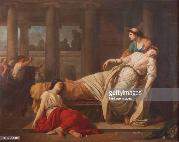 The Death of Cleopatra 1785 Private Collection