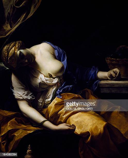 the death of cleopatra how she