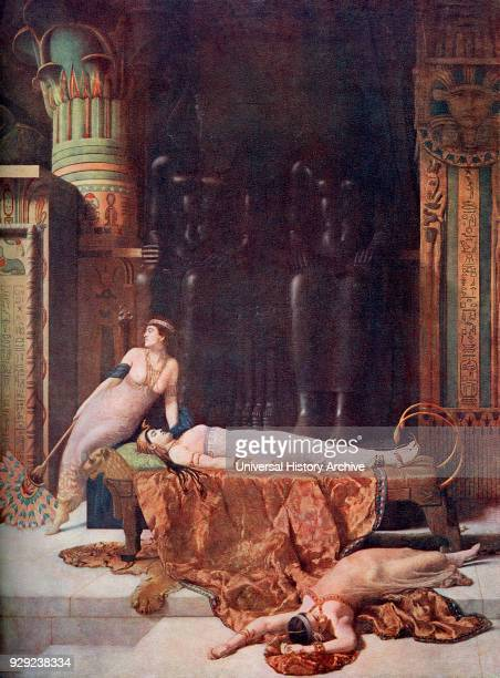 The Death of Cleopatra Cleopatra VII Philopator c 69 BC – 30 BC Last active pharaoh of Ancient Egypt After the painting by John Collier From...