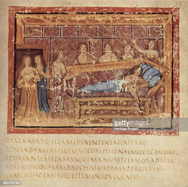 The Death of Dido ca 400 Found in the collection of the Biblioteca Apostolica Vaticana