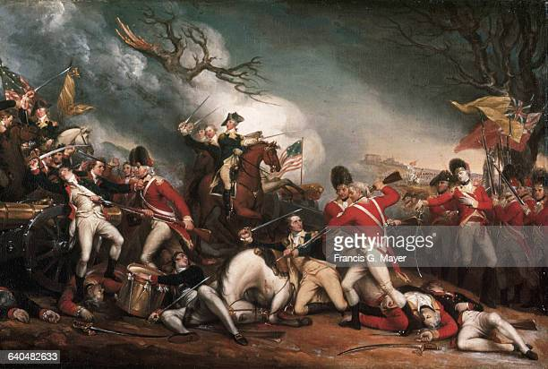 The Death of General Mercer at the Battle of Princeton January 3 1777 by John Trumbull