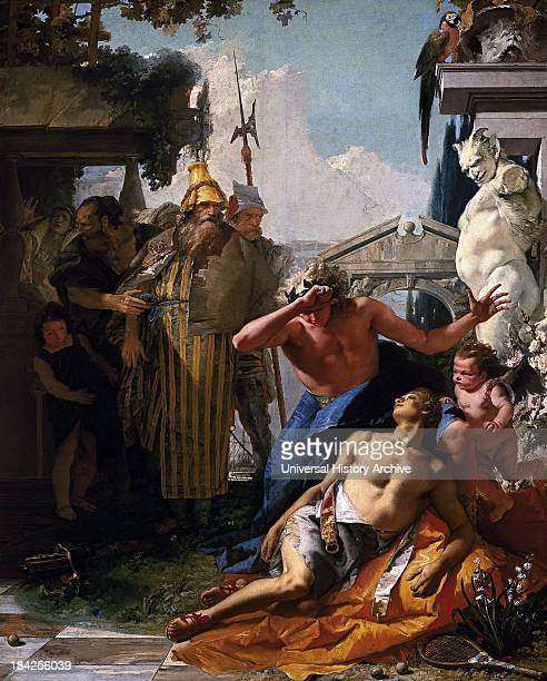 The Death of Hyacinth by Giambattista Tiepolo Oil on canvas circa 175253