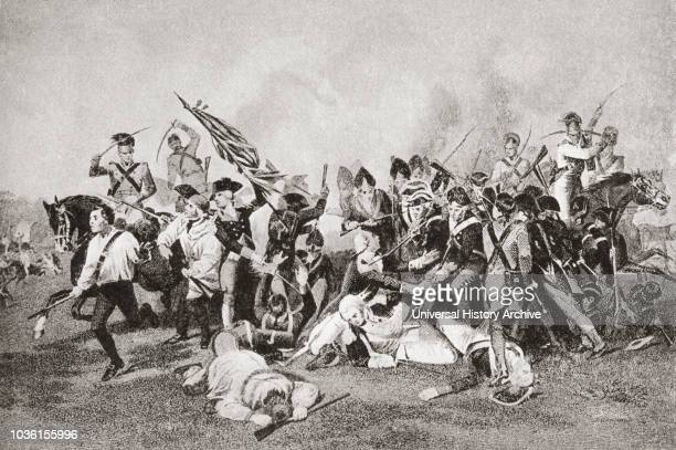 The death of Johann de Kalb at the Battle of Camden during theAmerican Revolutionary War Johann von Robais Baron de Kalb 1721 1780 born Johann Kalb...