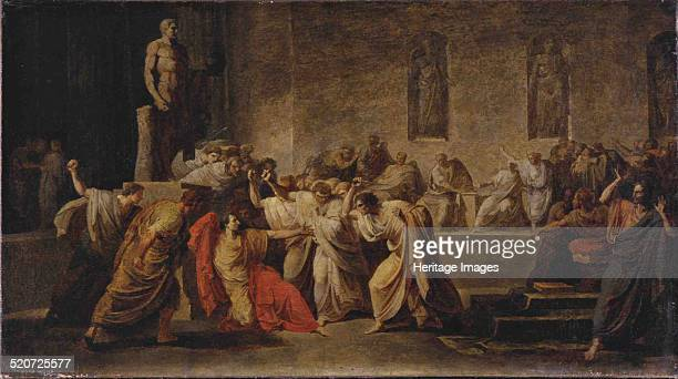 The Death of Julius Caesar Found in the collection of Museo d'Arte Moderna Bologna