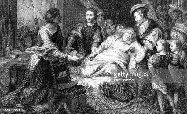 The death of Leonardo de Vinci 1519 One of the greatest figures of the Italian Renaissance Leonardo died at Clos Luce Amboise France on 2nd May 1519