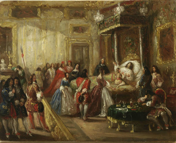 the death of louis xiv in versailles pictures getty images