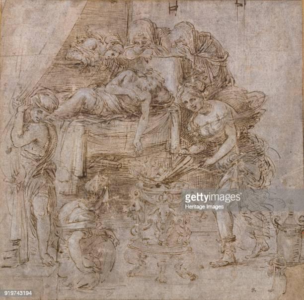 The Death of Meleager circa 1490s Artist Filippino Lippi