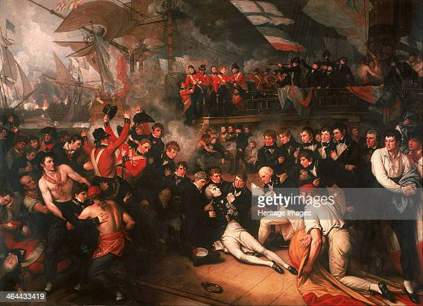The Death of Nelson 1806 Found in the collection of the Walker Art Gallery