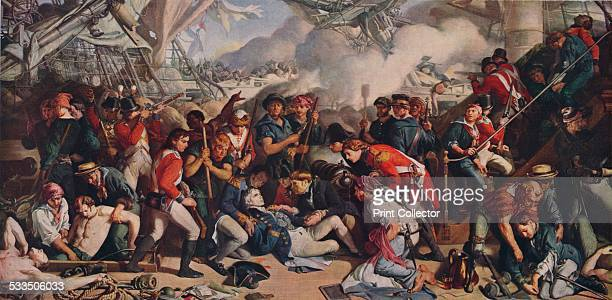 The Death of Nelson 185964 The death of Admiral Horatio Nelson at the Battle of Trafalgar From the collection of the National Museums Liverpool Scene...