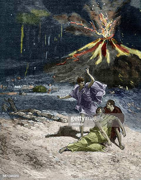 The death of Pliny the Elder on August 25 79 AD while attempting the rescue by ship of a friend and his family from the eruption of Mount Vesuvius...