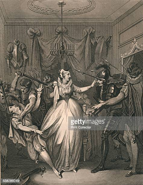 The Death of Rizzio. David Rizzio , was an Italian courtier, who rose to become the private secretary of Mary, Queen of Scots. Mary's husband, Lord...