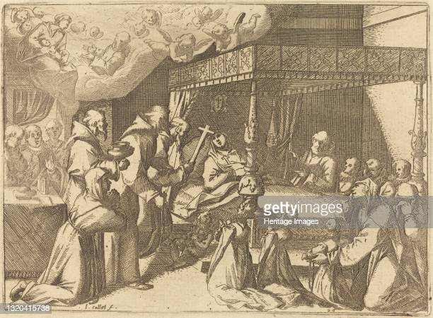 The Death of the Queen, 1612. Artist Jacques Callot.