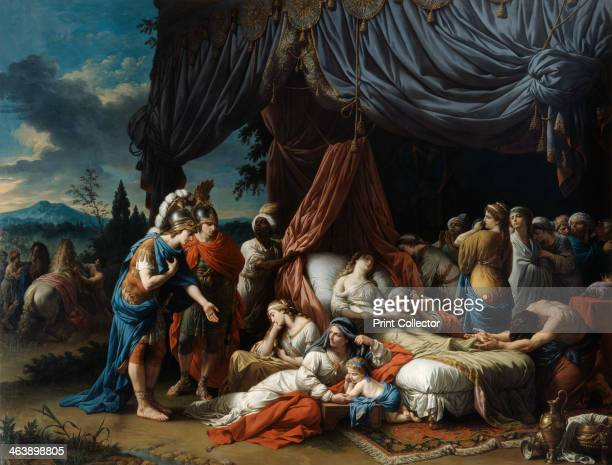 'The Death of the Woman of Darius', 1785. The death of Statira, the wife of Darius III of Persia, in the captivity of Alexander the Great in 331 BC....