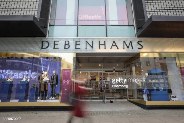 The Debenhams Plc flagship department store on Oxford Street in central London, U.K., on Monday, Nov. 30, 2020. Philip Green'sArcadiaGroup is...
