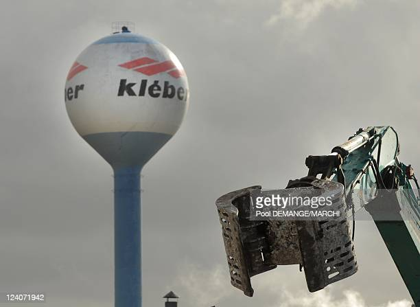 The decision of the mother-company, Michelin, of closing Kleber's factory in 2009 In Toul, France On February 06, 2008- Kleber chief Henri de la...