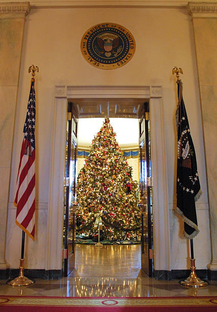 white house christmas decorations - Decorative Christmas Tree Stands