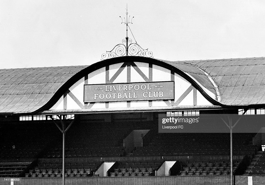 Main Stand Gable end : News Photo