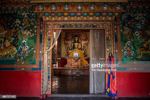 The Deden Tsuglagkhang temple It is an elegant stone structure built on traditional Tibetan lines Its principal focus is a 14 ft gilded copper statue...