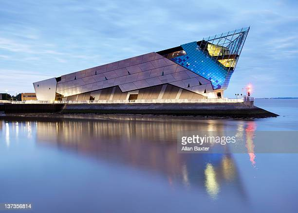 the deep, aquarium - kingston upon hull stock pictures, royalty-free photos & images