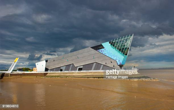 The Deep submarium and aquarium Tower Street Hull Humberside 2011 Designed by architect Sir Terry Farrell with funding from the National Lottery's...