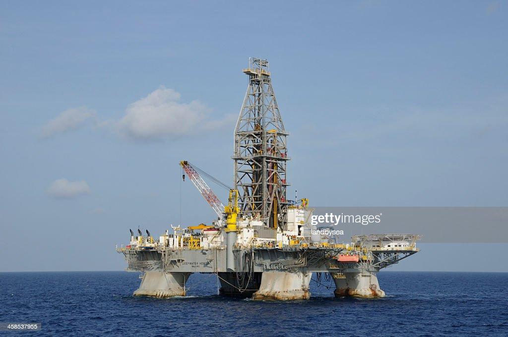 The Deepwater Horizon : Stock Photo