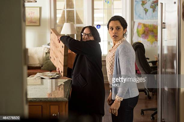 THE BLACKLIST The Deer Hunter Episode 213 Pictured Amanda Plummer as Tracy Solobotkin Sepideh Moafi as Mary Henning