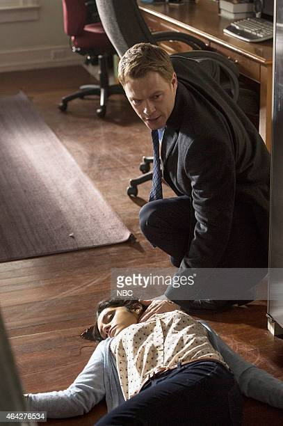 THE BLACKLIST The Deer Hunter Episode 213 Pictured Sepideh Moafi as Mary Henning Diego Klattenhoff as Donald Ressler